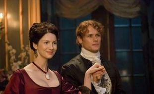 Caitriona Balfe (Claire ) et Sam Heughan (Jamie) dans la saison 2 de «Outlander».