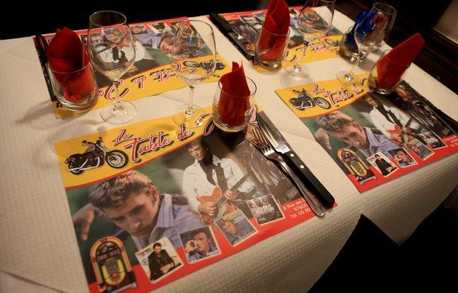 Au restaurant La table de Johnny à Sélestat (Bas-Rhin).