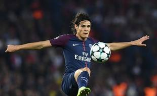 Edinson Cavani marque le second but parisien