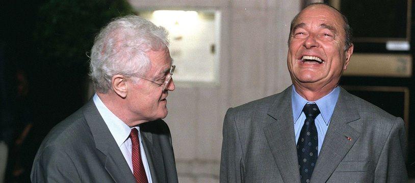 Lionel Jospin et Jacques Chirac, pendant la troisième cohabitation. (archives)