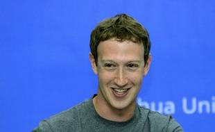 Le fondateur de Facebook Mark Zuckerberg en octobre 2014.