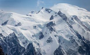 Vue du Mont-Blanc. KONRAD K./SIPA