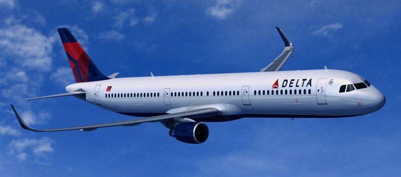 Un Airbus A321 de la compagnie Delta Air Lines