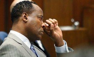 Conrad Murray, le médecin personnel de Michael Jackson, au premier jour de son procès à Los Angeles, le 27 septembre 2011.