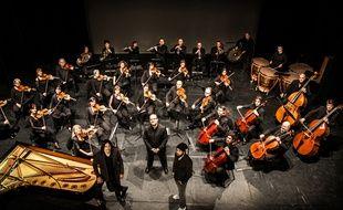 L'orchestre symphonique autour de Faf Larage et Sébastien Damiani