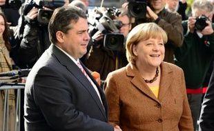 Les principaux dirigeants conservateurs et sociaux-démocrates allemands se retrouvaient mercredi pour une nouvelle séance plénière de négociation sur la constitution d'un gouvernement, des sujets, comme une taxe sur les transactions financières, faisant déjà l'objet d'un accord de principe.