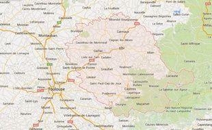 Le département du Tarn (81).