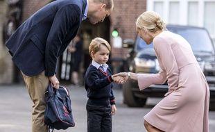 Le prince George a fait sa rentrée le 7 septembre 2017