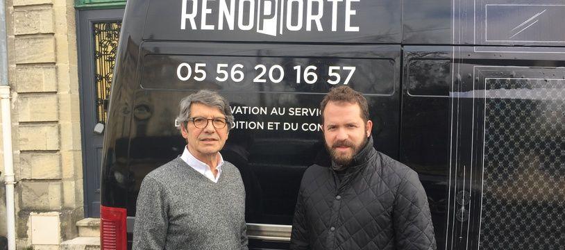 Jean-Paul Carreau (à gauche) et Laurent Bolzer.