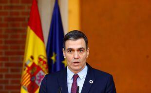 Pedro Sanchez, le Premier ministre espagnol, appelle au calme