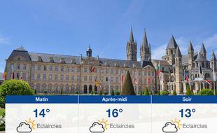 Météo Caen: Prévisions du vendredi 24 mai 2019