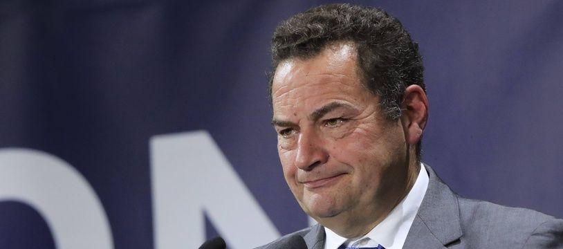 Jean-Frédéric Poisson, le 28 septembre 2019 à Paris.