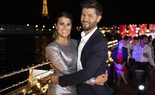 Christophe Beaugrand et Karine Ferri présentent « Le grand bêtisier à la maison » sur TF1 pendant le confinement