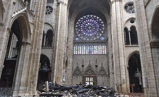 Notre-Dame de Paris le 16 avril 2019.