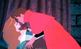 Le baiser du prince de «La Belle au bois dormant», dans la version Disney.